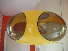 Space-age UFO lamp light vintage LUIGI COLANI design lampe 70 70s 70s retro 60s