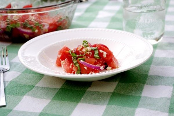 Watermelon & Feta Salad // Nutritionist in the Kitch