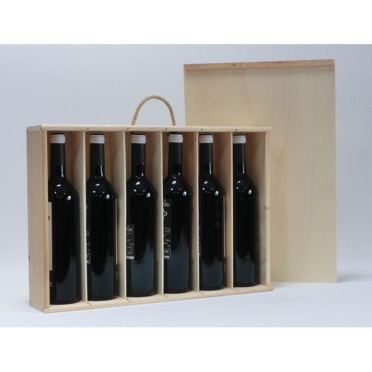 comprar y tienda cajas de madera para botellas de vino y cava