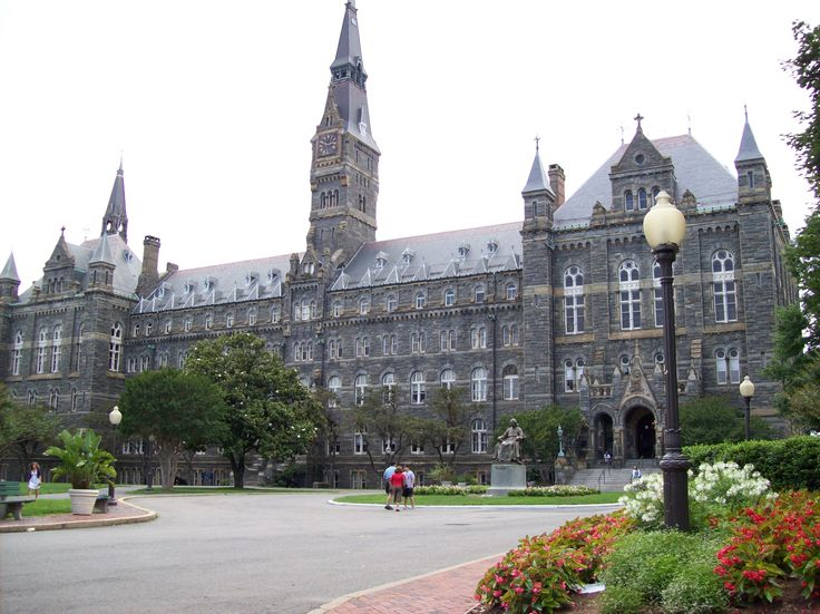 Georgetown University, Georgetown, DC. Another place that I've lived--externed at Georgetown U in 1988-89, lived on campus over the summer, and enjoyed the D.C. life...