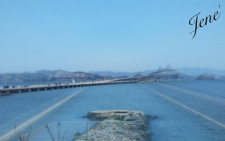 Bay Area, this is a picture that I took after seeing my husband in San Quentin State Prison.