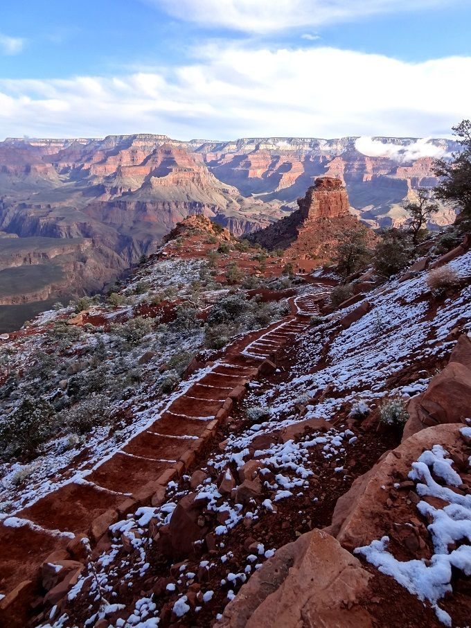 米国・グランドキャニオンにて。Grand Canyon in Arizona, USA.