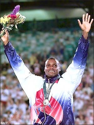 Carl Lewis by far world's most dominant sprinters and long jumper who topped the world rankings in the 100 m, 200 m and long jump events frequently from 1981 to the early 1990s. He was named Athlete of the Year by Track and Field News in 1982, 1983 and 1984, and set world records in the 100 m, 4 x 100 m and 4 x 200 m relays. He still is the current world record holder long jump indoor (since 1984). #UHAlumni #GreatAthlete
