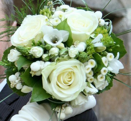 Le bouquet de la mariée champêtre