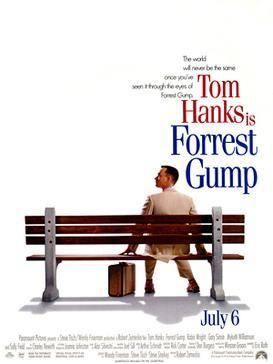 L1994 Forrest Gump Tom Hanks as Gump - Robin Wright as Jenny Curran Regie Robert Zemeckis