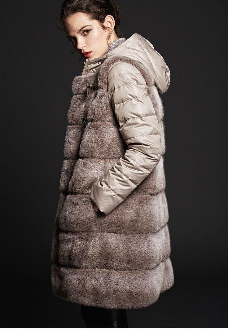 mink fur down coat ,double-faced.$1980.eileenhou