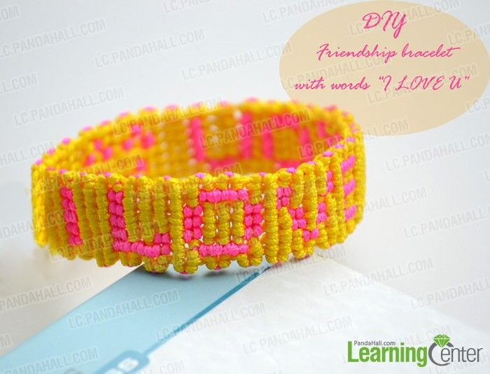 Entirely different kinds of string bracelets-how to make string bracelets with words - Pandahall.com