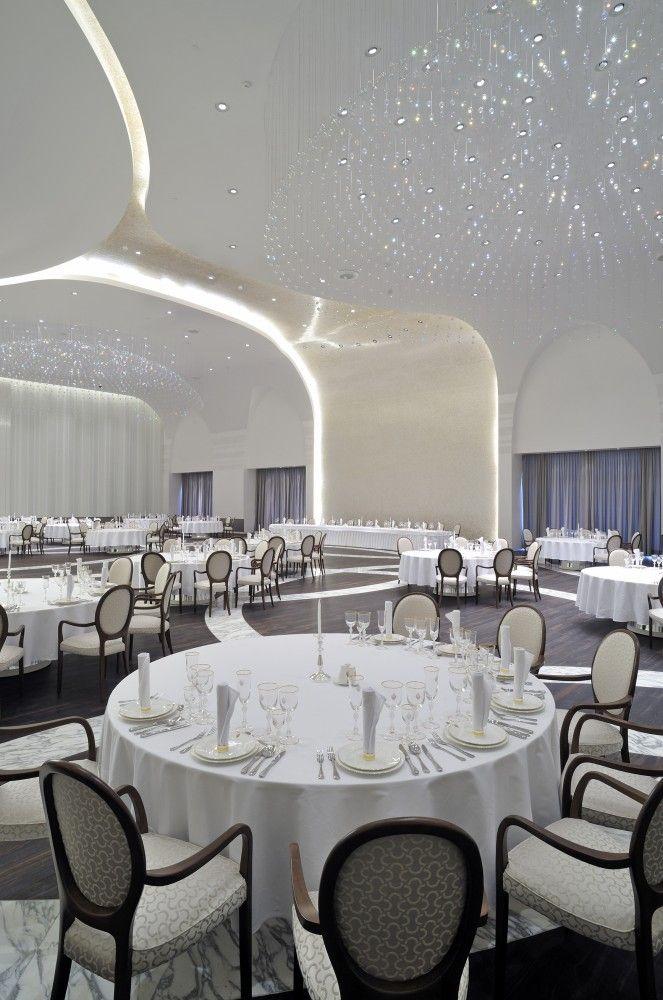 Illumination: Palace of International Forums / pfarré lighting design
