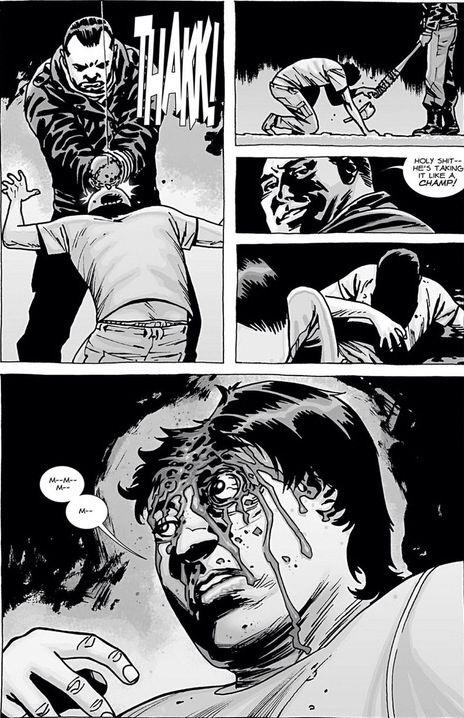 Not Glenn don't let Glenn be dead :(