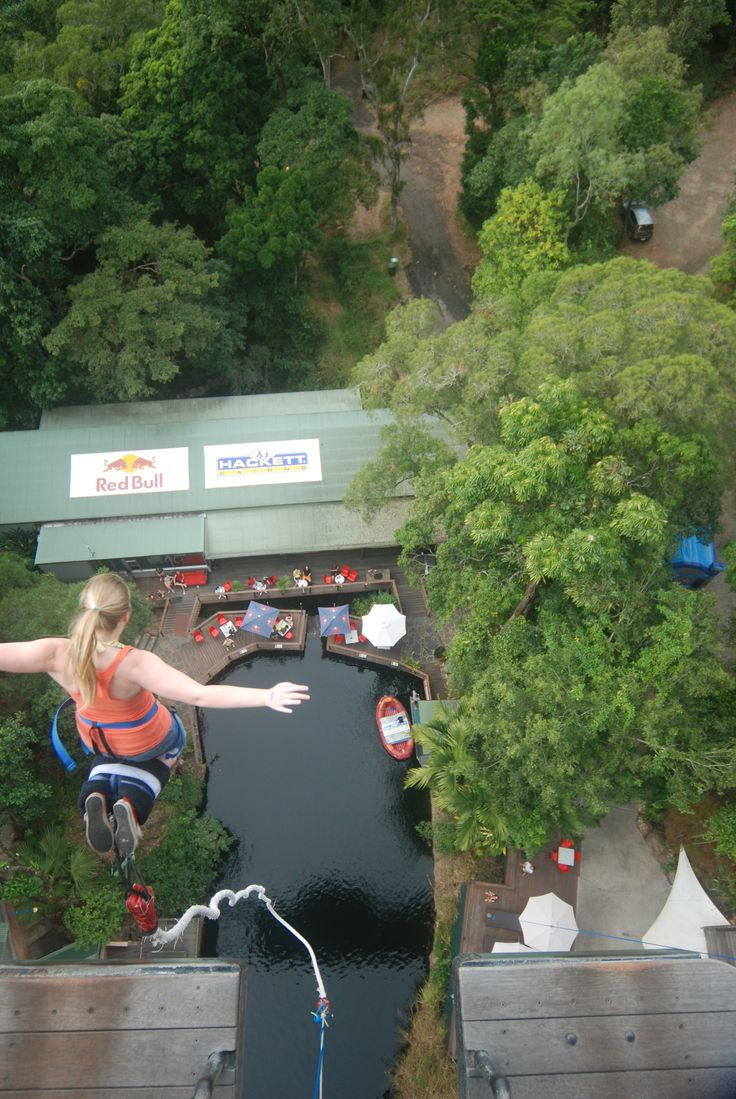 This is me bungee jumping in Australia! I love traveling and adventures :-)