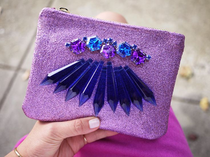 DIY Chandelier Crystal Clutch