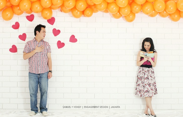 sweet love story - engagement photos / prewedding photos
