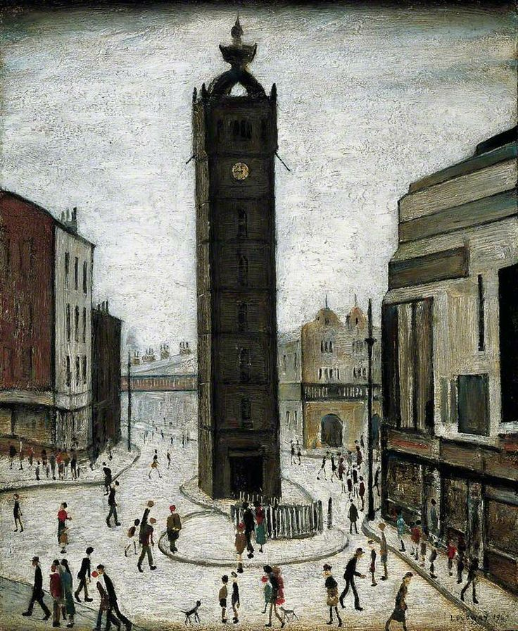 Lowry: 1947 - The Tollbooth, Glasgow
