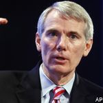 Ohio's Rob Portman is the latest Republican senator caught trying to cloud his opposition to significantly expanding background checks for gun sales.