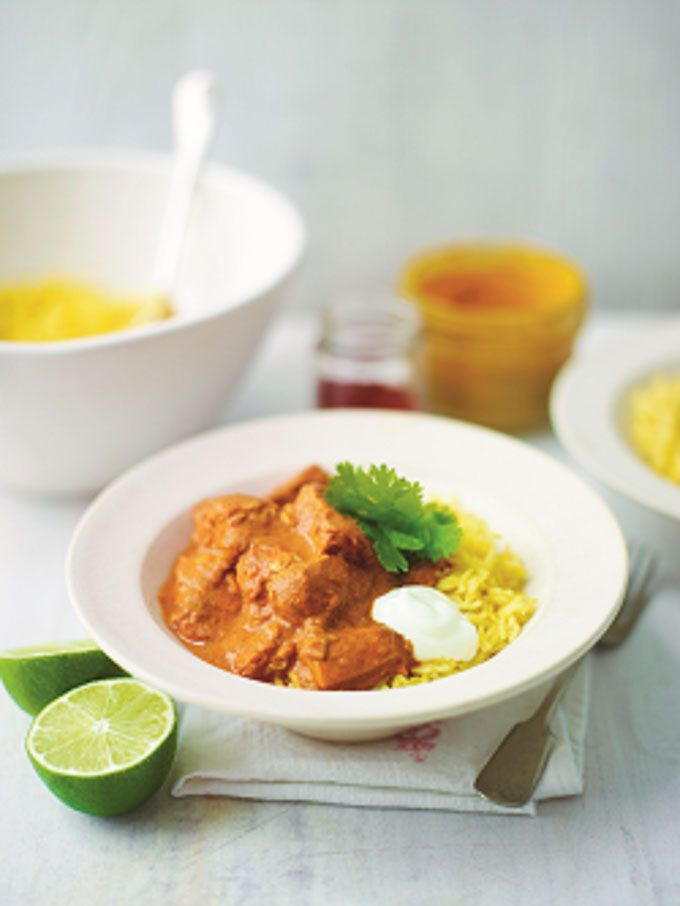 A fresh and easy chicken tikka masala recipe that takes only 20 minutes from start to finish.