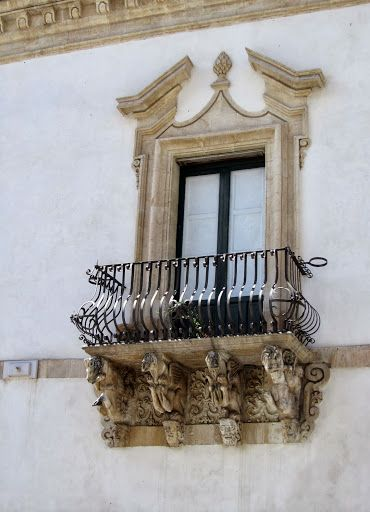 Baroque window Scicli, Italy, by Craig Latker