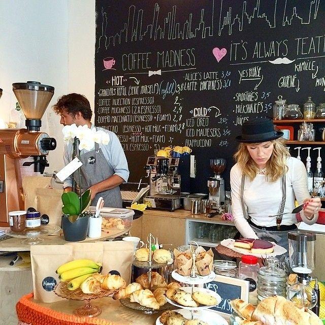 Maurice coffee by Véronique Leysen, #Antwerp http://www.newplacestobe.com/region/antwerp/summer-pop-up-maurice-coffee-bar-berchem
