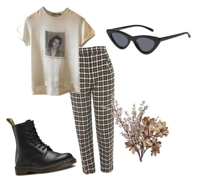 """""""Untitled #15"""" by antisocialsarah on Polyvore featuring Topshop, Dolce&Gabbana, Dr. Martens and Wyld Home"""