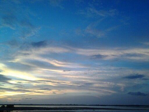 Sunset sky @G Coward Benoa, Bali