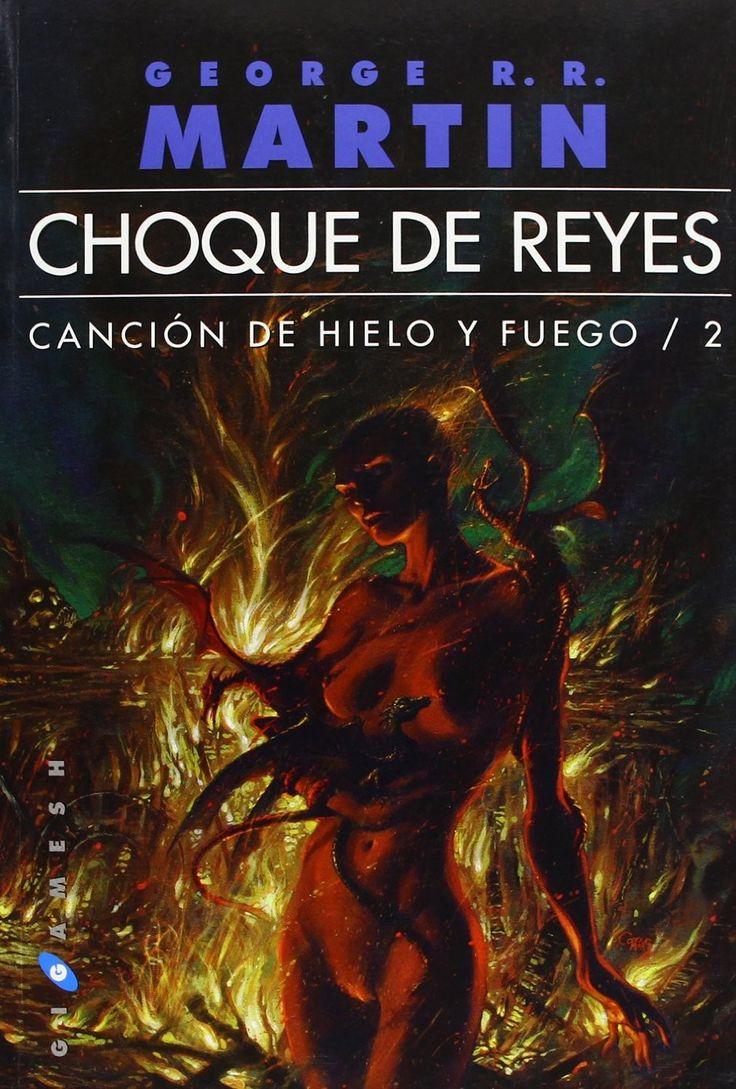 """Aquest és el segon llibre de """"Canción de hielo y fuego"""", precisament, """"Choque de reyes"""". Aquesta continuació millora respecte el primer llibre i cada vegada, la saga agafa més emoció."""