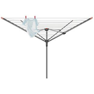 Buy Vileda 50m 4-Arm Ready to Use Outdoor Rotary Airer at Argos.co.uk, visit Argos.co.uk to shop online for Washing lines and airers
