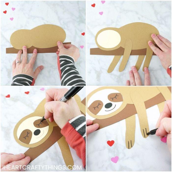 Das entzückendste Sloth Craft, das Sie je gesehen haben