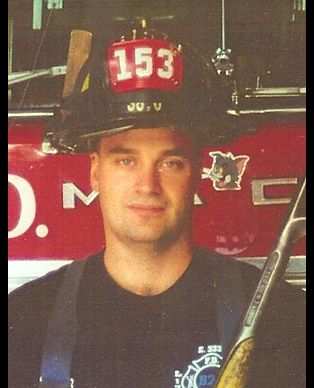 Stephen Siller ran through the Brooklyn Battery tunnel in full gear to get to the Twin Towers on 9/11. He died when the buildings collapsed. Now there is an annual run through the tunnel in his honor. 9/11 ~ Never Forget!!