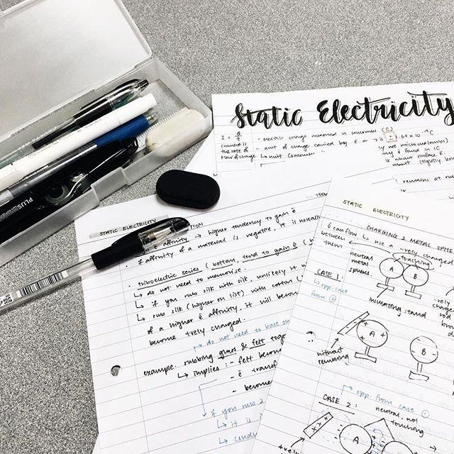 17 Best ideas about Physics Notes on Pinterest   School ...