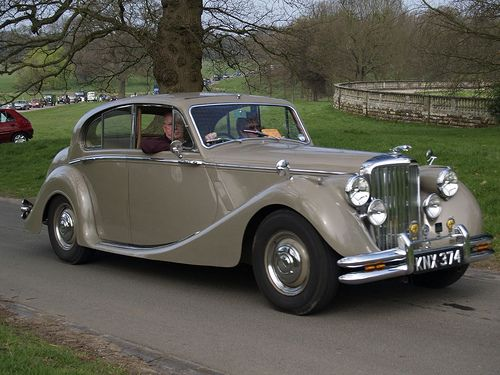 Jaguar Old Saloon Car - 1950 Like, repin, share, Thanks!