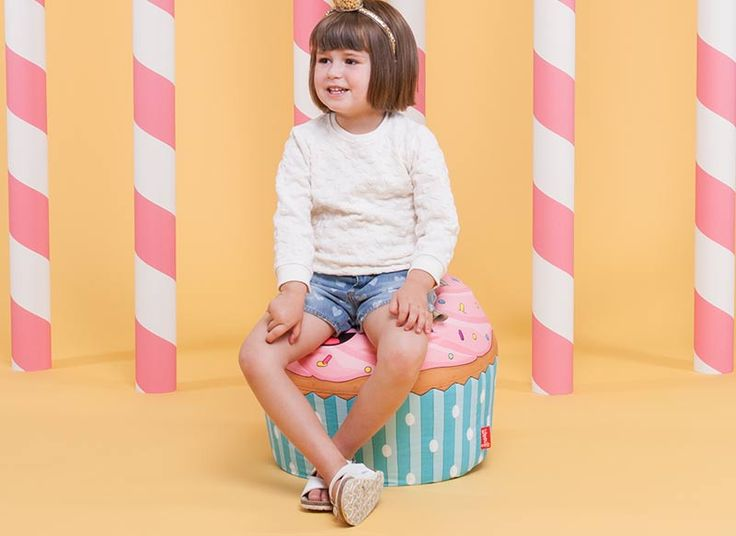 Cupcake Bean-Bag Kids