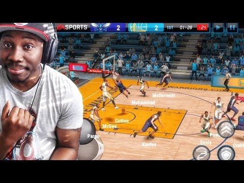 NBA Live Mobile 16 Gameplay - DAILY GRIND! HOW TO SCORE EVERY POSSESSION! Ep. 3 - YouTube