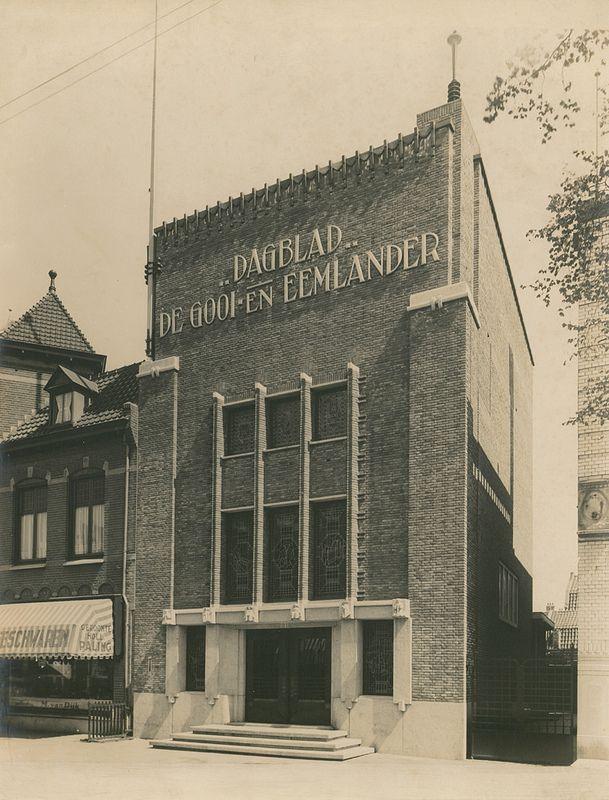 Kantoorgebouw Gooi- en Eemlander Hilversum
