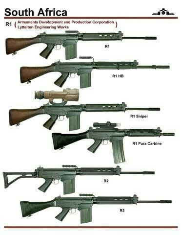 South Africa R1 FAL series.