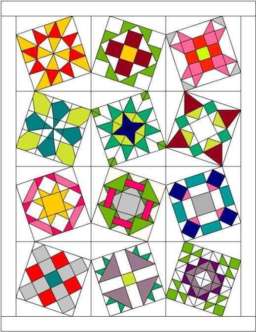 Sampler quilt layouts!!!