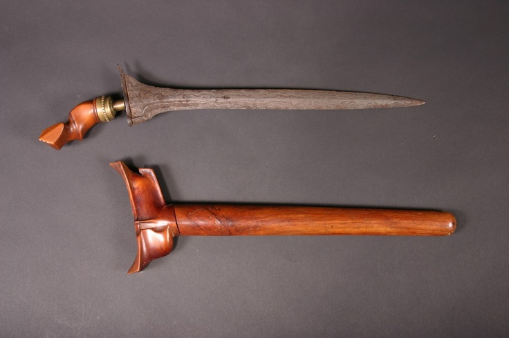 Indonesian Kris and scabbard
