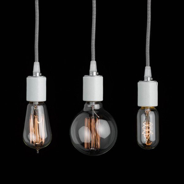 Old School Light Bulbs