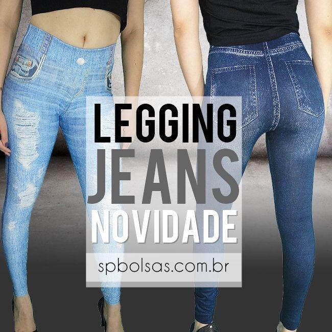 Calças Legging Jeans Feminina sensação da moda. Perfeitas para treino, trabalho, passeio e dia a dia. Compre aqui http://www.spbolsas.com.br/roupas-femininas/calcas-legging  Combina com vários looks e ocasiões realçando suas curvas!  #calça #legging #jeans #fake #sublimada #estampada #moda #calças #femininas #look #perfeita #treino #acadêmia #exercícios #trabalho #festa #balada #passeio #diaadia #lançamento #novidade #preço #baixo #loja #virtual #site #online #comprar #fitness #estilo…