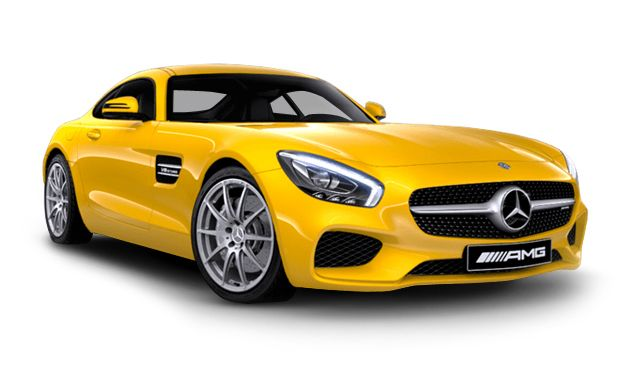 Mercedes - AMG GT S, with a 503-hp 4.0-liter twin-turbo V-8 and a seven-speed automatic; it has a 0-60-mph time of 3.0 seconds and a top speed of 193 mph.