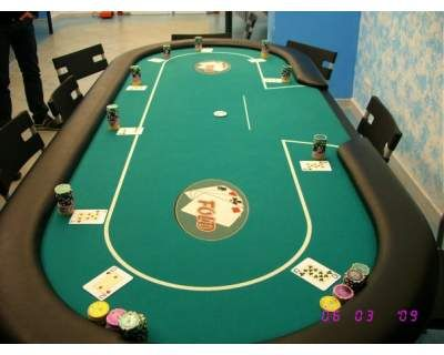 Tavolo poker misure regolamentari 10 posti + dealer nuo