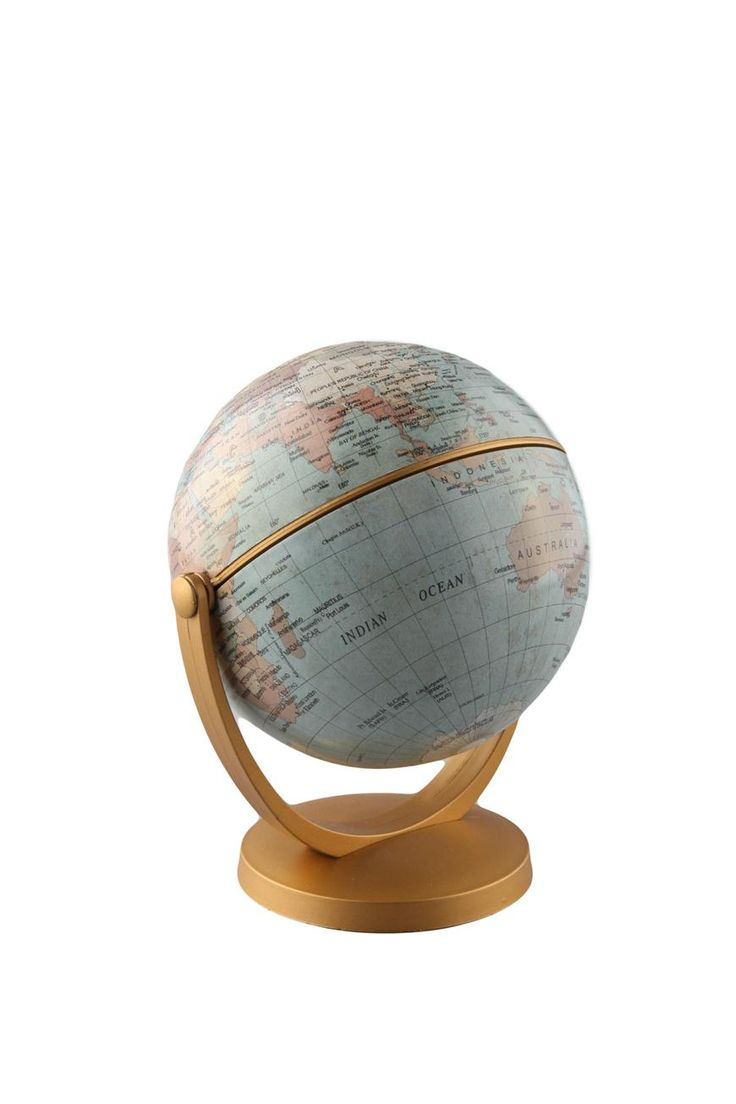 round the world globe small