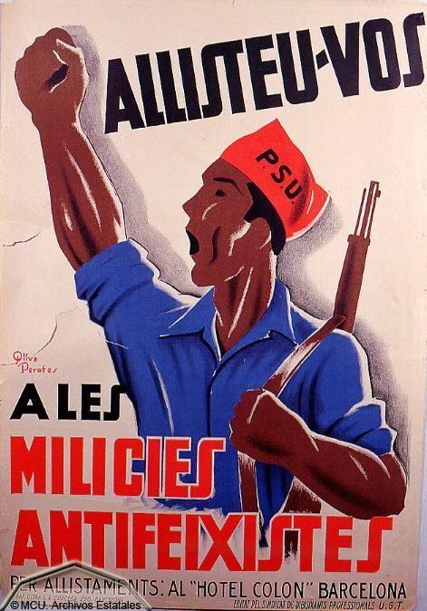 propaganda guerra civil española / Spanish Civil War Propaganda