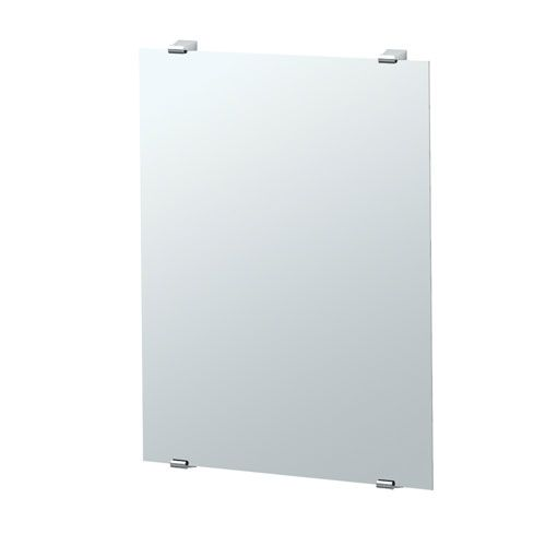 Bleu Chrome Minimalist Mirror