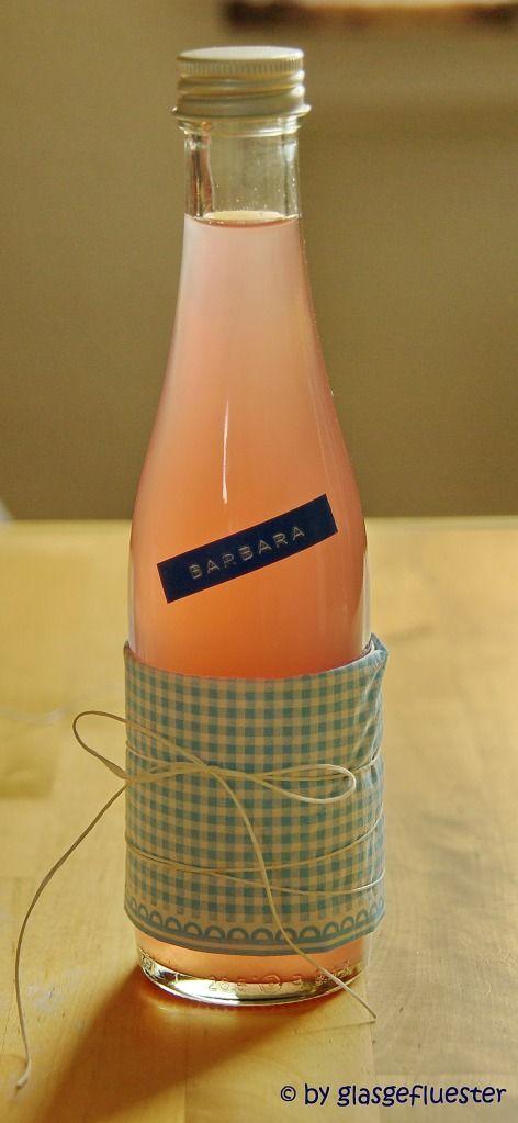 rhabarber likör /rhubarb liqueur