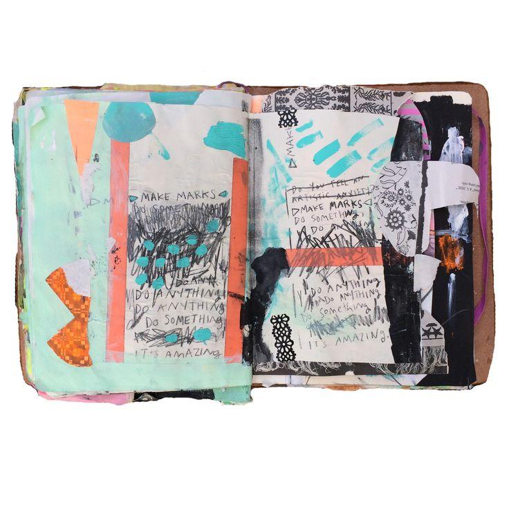 art journals - Cait Sherwood