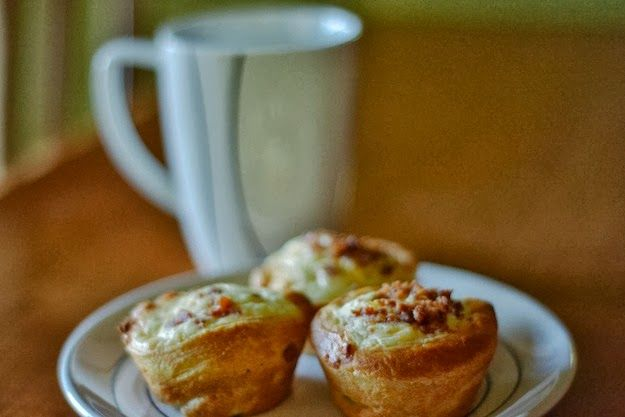 Breakfast Bacon Quiche Tarts