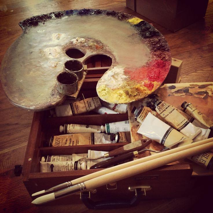 Artists Materials - The Palette of Teresa Oaxaca - Natural Pigments