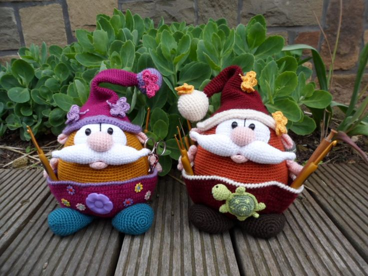 Gnomes (pattern by Mala Designs)