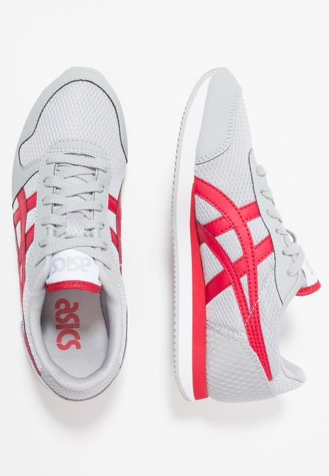 finest selection 5683b f7b12 Asics Tiger CURREO II - Matalavartiset tennarit - mid grey samba -  Zalando.fi