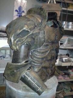 Highlander Kurgan reproduction armor I make and offer