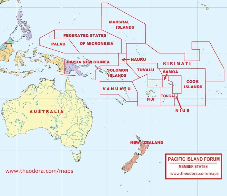 uspi-map-bigjpg 2t - Travel Pacific Islands Pinterest - new world map fiji country